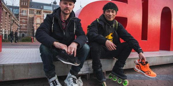 Na korčuliach z Ázie do Európy!